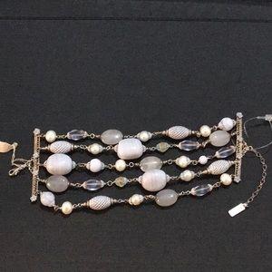 Jewelry - 5 strand beaded bracelet